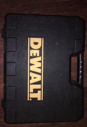 Dewalt hammer drill case for Sale in South Charleston, WV