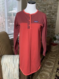 Patagonia Women's Ahnya Henley Sweatshirt Dress for Sale in Vancouver,  WA