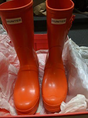 Hunter Short Gloss Rain Boots for Sale in Tukwila, WA