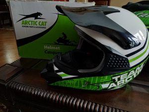 Arctic Cat Team Arctic Snowmobile Helmet - Like New $90 / obo for Sale in Homer Glen, IL