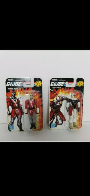 GI Joe Cobra Slash Slice Action Figure by Hasbro NIB Cobra Ninja NIP 3.75 inches for Sale in Brooks, OR