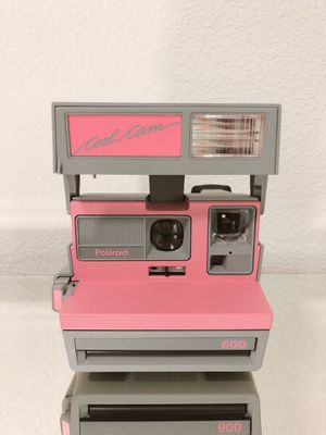 Polaroid cool can limited edition Pink vintage camera for Sale in Los Angeles, CA