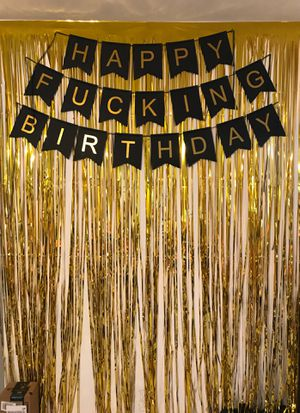 Birthday photo booth props for Sale in Hollywood, FL