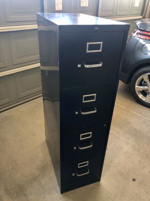 Nice Four Drawer Metal File Cabinet for Sale in Phoenix, AZ