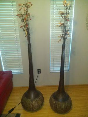 2 tall Unique Modern Vases for Sale in Sarasota, FL