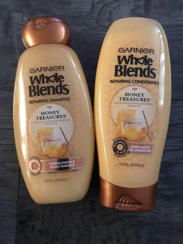 Garnier whole blends honey treasures shampoo and conditioner set