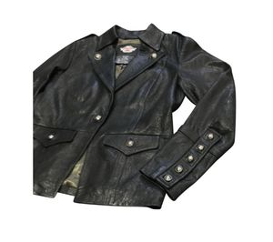 Harley-Davidson Blazer Deluxe Lambskin Military Jacket Large for Sale for sale  Queens, NY