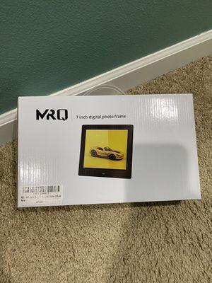 MRQ 7-inch digital frame for Sale in Olympia, WA