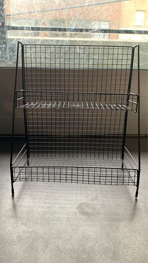 Small Two Layer Black Iron Shelf for Sale in Seattle, WA