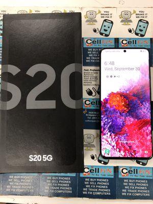 Samsung S20 5G 128GB Unlocked for Sale in Bridgeport, CT