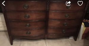 Antique Six Drawer Dresser for Sale in Miami, FL