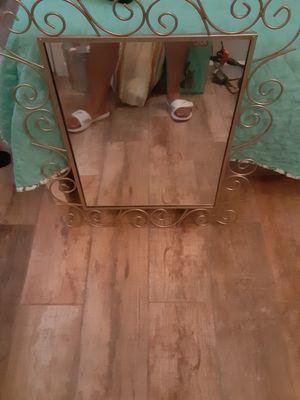 Mirror, shelf small room decor. for Sale in Austin, TX
