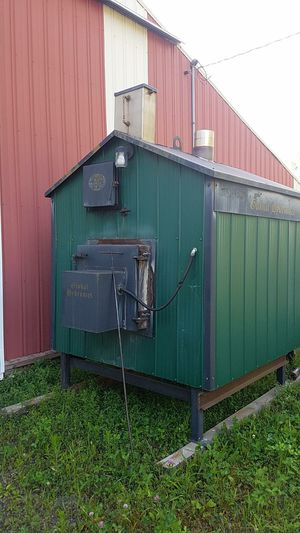 Outdoor wood boiler stove for Sale in Montrose, MI
