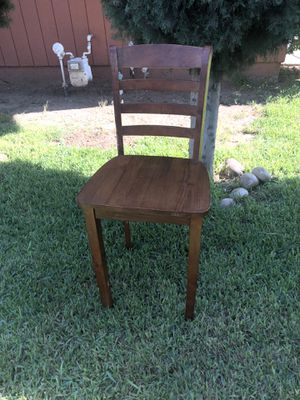 Wooden high chair for Sale in Dinuba, CA