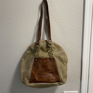 Green Canvas And Leather Mona B Bag for Sale in Henderson, NV