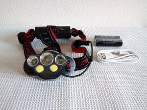 5X LED USB Rechargeable Headlamp for Sale in San Diego, CA