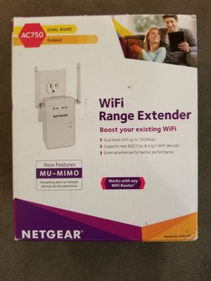 Netgear WiFi Range Extender for Sale in Seal Beach, CA
