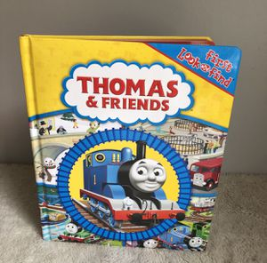 Giant Thomas The Train Engine Look And Find Children's Board Book for Sale in Haverhill, MA