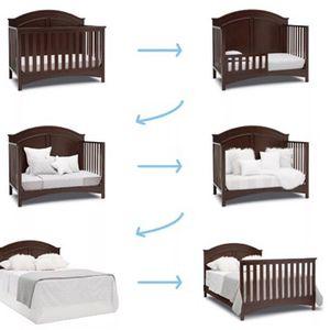 6 in 1 Convertible Crib for Sale in Alpharetta, GA