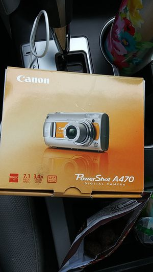 Canon Powershot A470 Digital Camera for Sale in Kalamazoo, MI