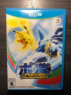 (Wii U) Pokken Tournament Nintendo for Sale in Grand Prairie, TX
