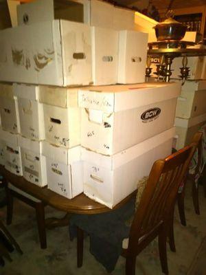 Grandpa's estate 30000 pieces casino memorabilia 3000 comics 5000 records 9000 1st edition books 1000s pieces glass for Sale in Las Vegas, NV