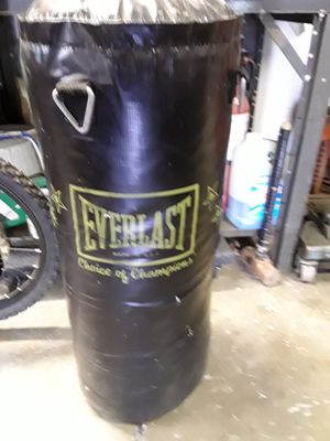 EverLast punching bag for Sale in Weldon Spring, MO