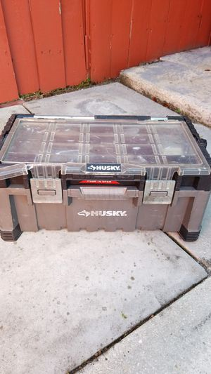 Husky cantilever tool box for Sale in Miami, FL