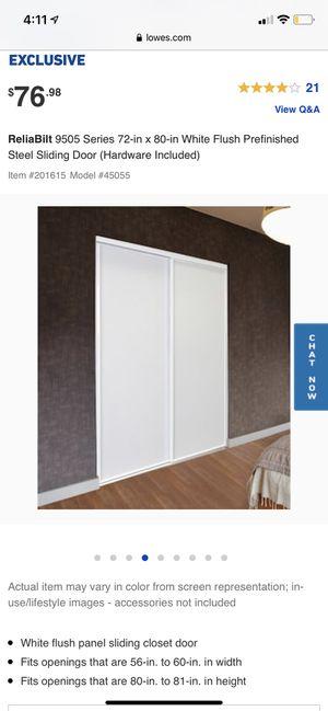 Closet Sliding Doors for Sale in Menifee, CA