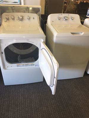 Brand New Set Washer And Dye King Size Capacity With Warranty Scraches Dent With Warranty No Credit Needed Just $79 The Down payment Cash price $1,499 for Sale in Garland, TX