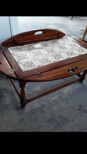 Solid wood fold out table for Sale in Torrance, CA
