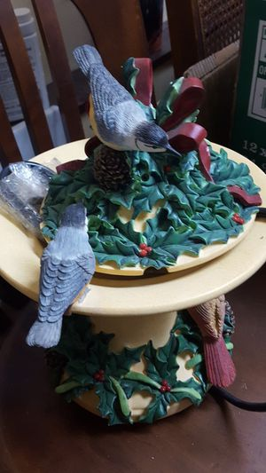 Lenox bird bath fountain for Sale in Federal Way, WA