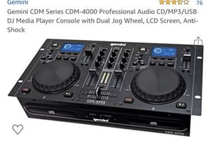 DJ Media Player Console with Dual Jog Wheel for Sale in Las Vegas, NV