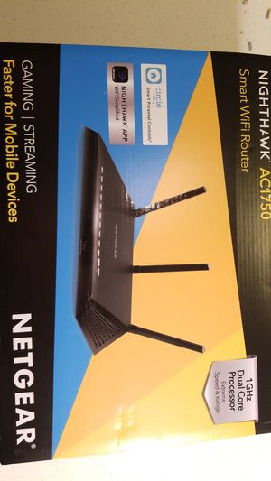 Router nighthawk ac1750 for Sale in San Diego, CA