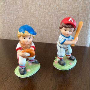 Vintage Baseball Figurines - Set Of 2 for Sale in Tacoma, WA