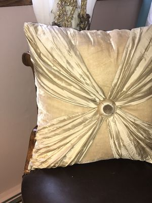 Silk and Velvet Dian Austin Pillow for Sale in Chicago, IL
