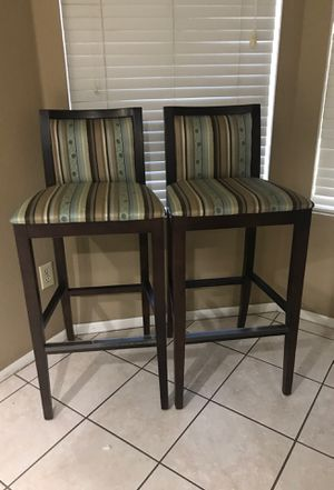 2 Bar Stools for Sale in Peoria, AZ
