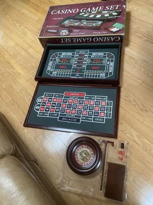 Championship Casino Deluxe Table Game Set for Sale in Albuquerque, NM