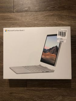 Microsoft Surface Book 3 BRAND NEW STILL IN PACKAGING for Sale in Long Beach,  CA