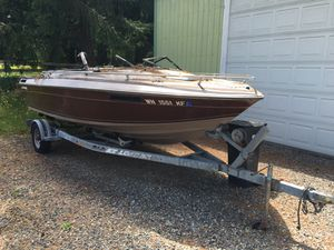 Boat trailer and motor for Sale in Seattle, WA