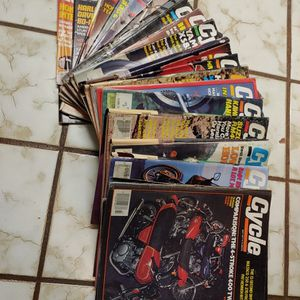 19 Vintage 1977-1981 Cycle Magazines for Sale in Elma, WA