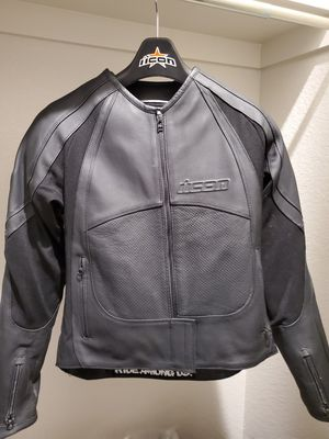 Women's Icon Leather Motorcycle Jacket for Sale in Thornton, CO