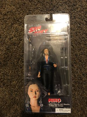 "NECA REEL TOYS SIN CITY MIHO SERIES 2 7"" ACTION FIGURE 2005 NEW SEALED 18 & UP for Sale in Fresno, CA"