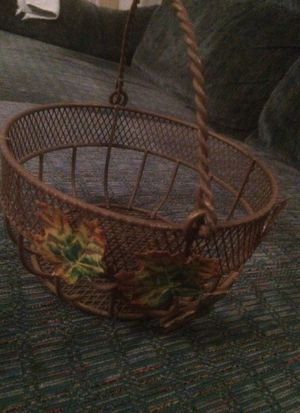Fall basket for Sale in Brandon, MS