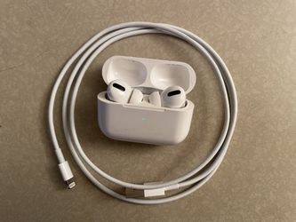 Airpods Pro w/charging cable authentic for Sale in Monterey Park,  CA