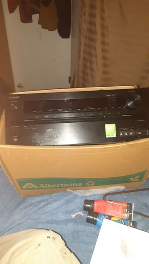 Onkyo digital reciever near new for Sale in Northglenn, CO