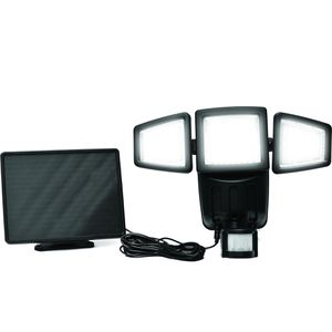 182 LED Triple-head Solar Security Light 1000Lumens for Sale in Baldwin Park, CA