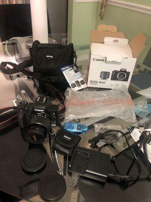 Cannon M50 mirrorless digital camera for Sale in Grand Prairie, TX