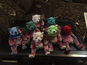Beanie babies birthday bears April, - dec minus oct for Sale in PLEASURE RDGE, KY
