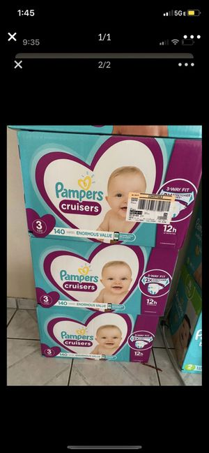Pampers size 3 for Sale in Torrance, CA